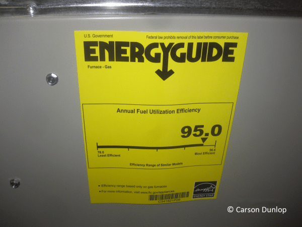 Energy Guide for Furnaces